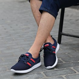 Wholesale Willy Wonka Summer New Men s Casual Net Surface Sneaker Running Shoes Han Version Air Permeable Shoes Portable Tour Guide