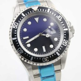 Wholesale - Top luxury brand hot sale mens watch automatic Mechanics Stainless steel blue black classic dial fashion watch