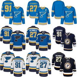 Men's 91 Vladimir Tarasenko 27 Alex Pietrangelo 2017 Winter Classic Jersey St. Louis Blues Blank Light Blue Stitched Hockey Jerseys