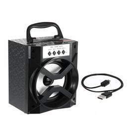 Boîte de haut-parleur de radio à vendre-MS-134BT Haut-parleurs Bluetooth Haut-parleurs portatifs TF Card Radio FM Haut-parleur Sound Box USB 3.5mm Wired Plug Haut-parleur extérieur pour téléphones cellulaires
