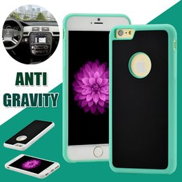 Wholesale For iPhone Anti Gravity Selfie Hybrid Magical Nano Sticky Antigravity Wall Case For Iphone Plus S SE S Samsung S7 S6 edge Plus DHL p