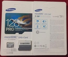 Wholesale SAMSUNG Pro GB Micro SD Card Micro SDXC CLASS10 TOP TF Memory Card C10 Flash SDHC SD Adapter for mokastore