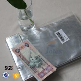 Sacs ignifuges à vendre-Money Cash Sacs ignifuges 550degree Celsius Fire Resistant Safe Guard Pouch Logo personnalisé Print File Envelope Document Bag