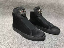Wholesale aa new hot fashion men pp top quality Badge design men casual leather shoes