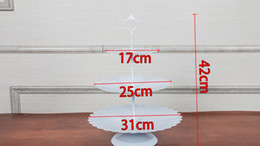 Gold Iron metal cake stand set 7pieces wedding cupcake tray plate birthday party cake decoration tools bakeware dinnerware
