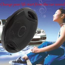 Wholesale 2PCS OHM quot mm W Max Car Coaxial Vehicle Door SubWoofer Woofer Auto Audio Music Stereo Speakers Way AUP_40Y