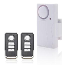 2017 entrée de la porte de sécurité Hot Selling porte de fenêtre d'entrée de sécurité ABS sans fil de contrôle à distance Door Sensor d'alarme d'alarme de cambrioleur système d'alarme Home Protection Kit entrée de la porte de sécurité sortie
