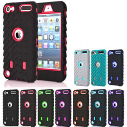 Canada Pneu de pneu Vroom Hard PC Plastique + Soft Hybrid Layer Case Pour Ipod Touch 6 6G 6th 5ème Dual Couleur Voiture Pneu Shockproof Skin Cove Offre