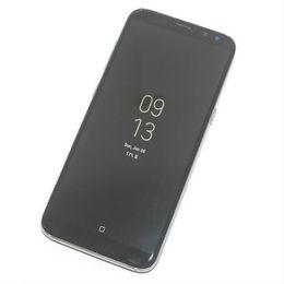 5.8 inch Full Screen Goophone S8 Android 7.0 Smartphone Quad Core MTK6580 1GB RAM 16GB ROM 1280*720 HD 8MP 3G WCDMA Phone Show 4GB 64GB