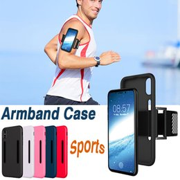 Sports Arm Bands Belt Case Running Cell Phone Arm Bag Workout ArmBand Holder Pounch Protective Silicone Cover For iPhone X 8 7 Plus 6 6S
