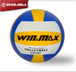 Wholesale 2015 Brand New Winmax Indoor Training Ball Classical Brand Machine Stitched mm PVC Voleibol Volleyball Ball