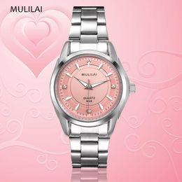 New diamond female diamond bracelet top brand luxury ladies dress business fashion gift world clock