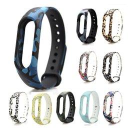 Acheter en ligne Mi bracelet de bande-Bracelet Bracelet Miband 2 Colour Bracelet Bracelet Remplacement Smart Band Accessoires Pour Mi Band 2 Silicone mixte accepter