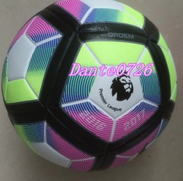Wholesale New Arrival Season Premier League Size Seamless PU Soccer Ball LaLiga Bundesliga Champions League Size Football