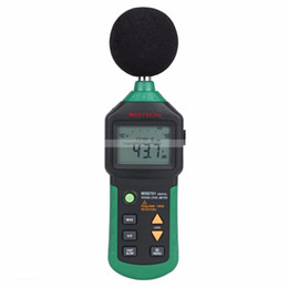 Wholesale MASTECH MS6701 Auto range Digital Sound Level Meter Decibel Tester dB to dB With USB Data Acquisition