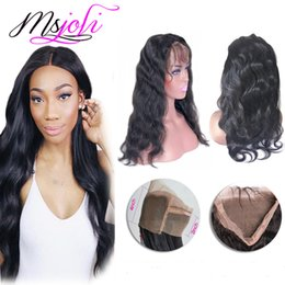 Brazilian human virgin hair 360 lace frontal body wave beauty free part unprocessed hair new arrival 8 to 22 inches by msjoli