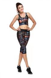 Leggings Mujer Moda Active Printed floral Polyester Mind negro siete pantalones de yoga Yuga siete Leggings polyester print leggings for sale desde polainas de la impresión de poliéster proveedores