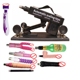 Wholesale Sexual Machines For Men - Luxury Automatic Sex Machine Gun Set for Men and Women Fucking Machine with Male Masturbation Cup and Big Dildo Sexual Intercourse Robot