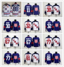 Wholesale 2010 Team USA Ice Hockey Jersey OLYMPIC Patrick Kane Phil Kessel Zach Parise Ben Bishop Jonathan Quick Max Pacioretty T J Oshie
