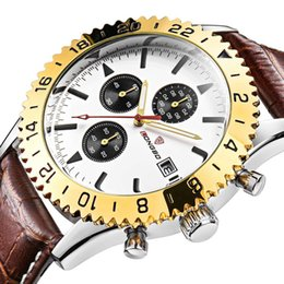 Luxury watch men's sports quartz watch six-pin calendar waterproof night light Pointers free delivery