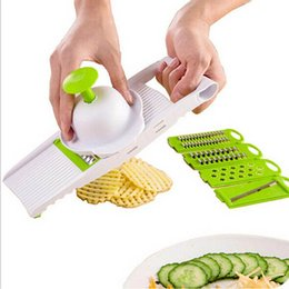 Wholesale Multi Function Vegetable Slicer Family Necessity Kitchen Tool Friendly Design Grater Save Worry Security Wire Cutter nc J R