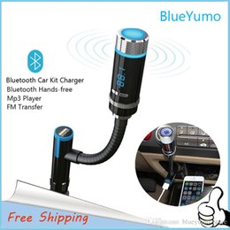 2016 New Arrival F33 Bluetooth Wireless Car Kit MP3 Player FM Transmitter USB Charger Handsfree DHL Free Shipping