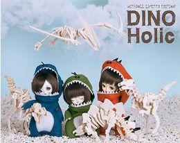 Compra Online Muñecas del bjd-20151037 oueneifs Withdoll 1/8 Dino Holic Ámbar bjd sd modelo de cuerpo renacido bebés niños muñecos ojos Tienda de juguetes de alta calidad
