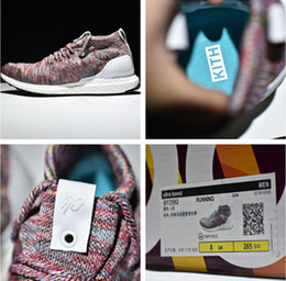 Wholesale 2017 Drop ship top quality KITH Ultra Boost Mid Aspen unisex Running Shoes with originals box size