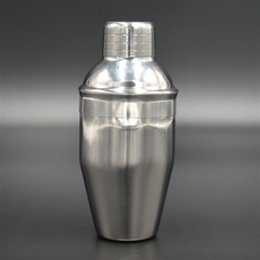 Wholesale Stainless Steel Shaker Mixer Party Drink Sieve Shaker Cocktail Shaker Home Bar Tools Bartending Tools ML