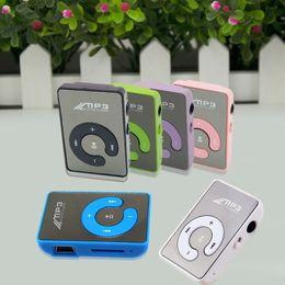 Mp3 mémoire lecteur 1gb à vendre-Vente en gros - Mini miroir sans écran MP3 Clip Plugin Card Smart Music Player Portable Sports Loisirs Perfect Sound Lecteur MP3 Mémoire Play