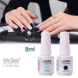 Wholesale ml Arte Clavo Choose Color Nail Art Supplies Gel Nail Polish Set Soak Off Nail Gel Colored UV Gel Polish