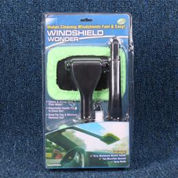 Wholesale Indshield Wonder Brush Automotive Windshield Mist Eliminator Window Cleaning Brushes Cleans Shines With Plain Water Hot Sale kc