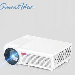 Grossiste-Nouveau mis à jour LED96 5500lumens conduit 3D home theater projecteur projecteur de jeu vidéo avec 2HDMI 2USB VGA AV TV prix bon marché de haute qualité à partir de jeux vidéo bon marché fabricateur
