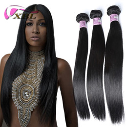Wholesale XBL Silky Straight Hair Virgin Human Hair Extensions Trucs Soie Soie Cheveux Solides