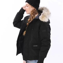 Outdoor Winter Canadian Thickened Down Garment Warm Down Garment Jacket Wind-proof Short Lady Jacket Down Garment