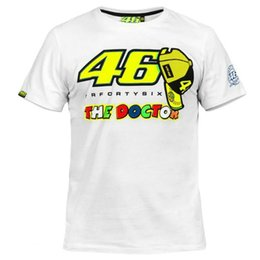Free shipping 2016 New Summer Rossi VR46 White Motorcycle Bike Motocross T-shirt Moto GP T shirt MOTO DH Downhill MX MTB JERSEY