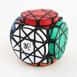 2017 dayan juguete La rueda de DaYan de los cubos mágicos del cubo VI de la gema del rompecabezas de la torcedura del cubo mágico de la sabiduría juega DHL libera el envío dayan juguete en venta