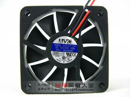 Free Shipping NEW For AVC C6010T12H Server Square Cooling Fan DC 12V 0.1A 60x60x10mm 2-Pin