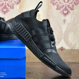 Wholesale 2017 Adidas Originals Cheap New NMD Runner PK Primeknit R1 Online For Sale Men s Women s Discount Fashion Sport Shoes With Box