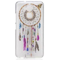 Wholesale For ASUS Zenfone3 lenovo C2 K6 A2020 k5 note Honor C Y6 II Nova Clear TPU cover case Macaron feather Dreamcatcher cute Skin