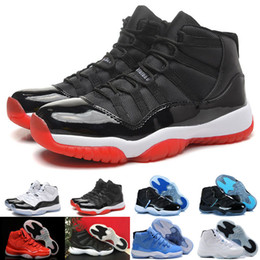 Best 2016 retro 11 bred concord Space Jam Legend gamma blue XI men basketball shoes sneakers 11 retro sports Baby, Kids shoes