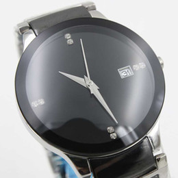 Wholesale - Luxury brand full high quaity limited mens watch black ceramic round TICHY date ceramic black mens fashion gents watches