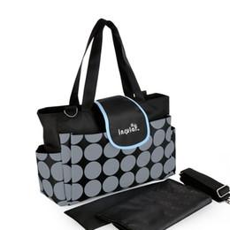 Woholesale Shipping Free Classic Fashion Baby Daiper Bag Waterproof Mommy Bag Nylon Nappy Bag
