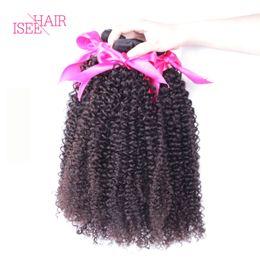 Bouclés tisse coiffures en Ligne-3PC Peruvian Curly Virgin Hair Extensions 8A Grade Bouclés Non Transformés Virgin Cheveux Premium Hair Humains Paquets Pour Coiffures Curly Tendres