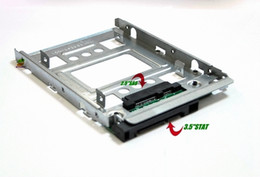 "HP 654540-001 2.5"" SSD to 3.5"" SATA Adapter Tray Converter SAS HDD Bracket Bay"