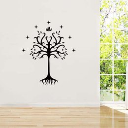 For Lord Of The Rings Vinyl Sticker Decal King Of Gondor Flag Bumper Art Wall Removable Bedroom Sitting Room Diy Decor