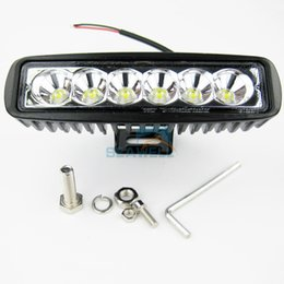 Wholesale 2PCS W LED Spot Light Bar Work Lamp Marine Boat Car Truck SUV ATV offroad Light