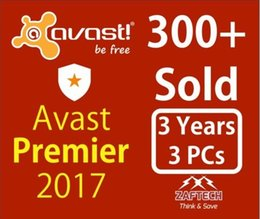 Avast Premier 2017 Licence file 3Year 3PC Full work Support all Language