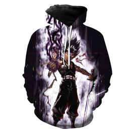 Free Shipping US Size M-5XL High Quality New Fall Men's Custom Features 3D Digital Printing Hooded Sweatshirt Sweater