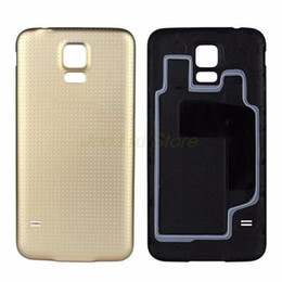 For Samsung Galaxy S5 G900 Battery Door Back Cover Rear Housing Case Replacement +Logo